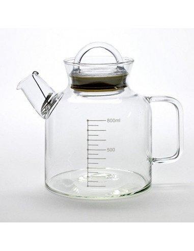 Serax theiere verre transparent laboratoire design industriel