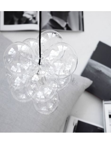 house doctor lampe diy bulles. Black Bedroom Furniture Sets. Home Design Ideas