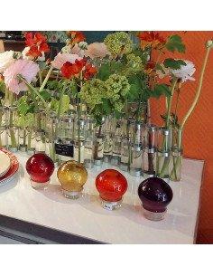 serax photophore verre couleur eclairage exterieur jardin decoration