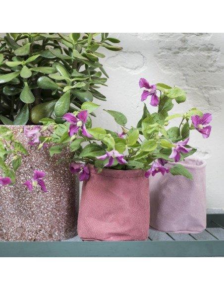 serax pot de fleurs en toile enduite. Black Bedroom Furniture Sets. Home Design Ideas