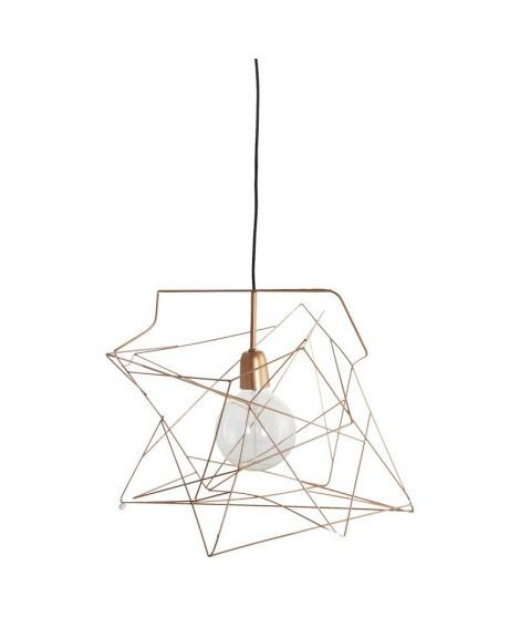 Suspension luminaire a suspendre house doctor Asymmetric cuivre