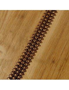 Pascale Lion Collier couleur cuivre 120 bijoux createur contemporain metal