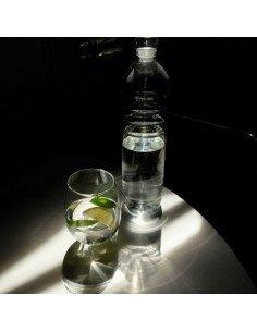 Bouteille à eau en verre transparent serax