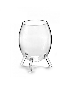 Verres à eau tripode serax verre transparent