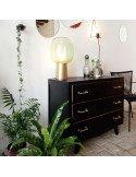 Commode pied compas rénovée brocante vintage en ligne