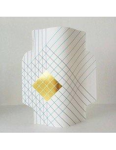 Vase papier Nomade octaevo design paper vase
