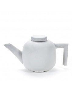 Théière en porcelaine blanche serax design catherine lovatt
