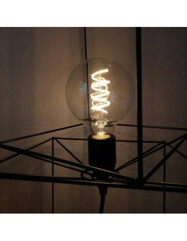 bazardeluxe ampoule led retro ronde. Black Bedroom Furniture Sets. Home Design Ideas