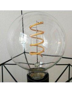 Ampoule Rétro led ronde bazardeluxe filament type edison