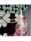 Douille métal et fil textile rouge bazardeluxe decoration retro industrielle
