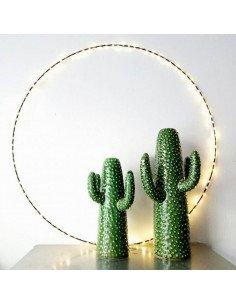 Cercle lumineux Eclipse 75 cm bazardeluxe mini led decoration noel intérieur extérieur