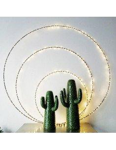 Cercle lumineux Eclipse 1 mètre bazardeluxe mini led rond décoration