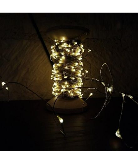 Guirlande Galaxie 20 mètres mini led decoration bazardeluxe