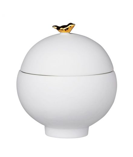 Boite porcelaine oiseau rader design decoration scandinave bapteme