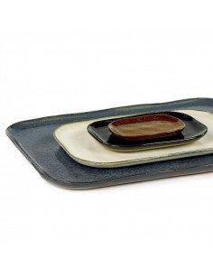 Petite Assiette rectangulaire grès ardoise serax merci concept store