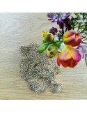 Pascale Lion bijoux contemporain de créateur| Collier cotte de maille couleur or 94