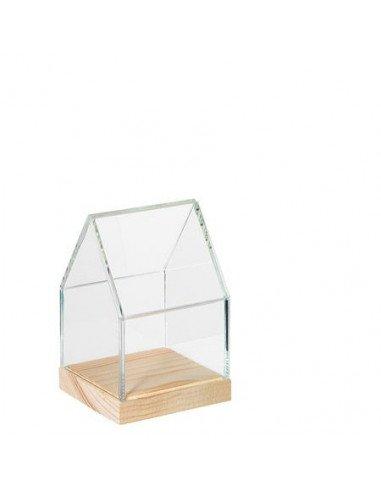 Mini maison vitrine en verre | Räder Design