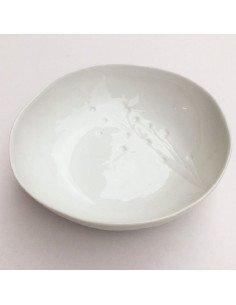 Bol floral porcelaine blanche | Räder Design