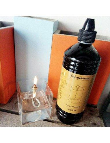BAZARDELUXE Huile transparente pour lampe à huile