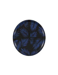 MARISKA MEIJERS Plateau Palm Beach cobalt 38 cm