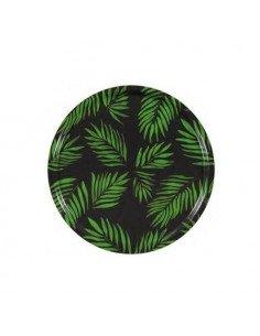 MARISKA MEIJERS Plateau Palm Beach vert 45 cm