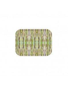MARISKA MEIJERS Plateau rectangle Botanical stripes 27 / 20 cm
