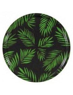 MARISKA MEIJERS Plateau Palm Beach vert 65 cm