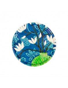 MARISKA MEIJERS Plateau Floraison bleu 45 cm