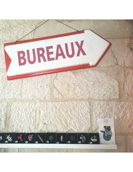 """Panneau Flèche """"Bureaux"""" - VENDU"""