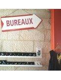 """Panneau Flèche """"Bureaux"""""""