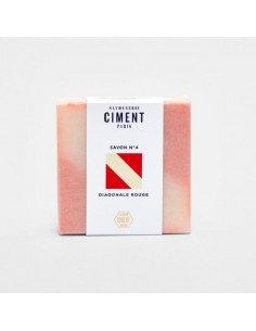 CIMENT PARIS Savon Diagonale senteur Crème