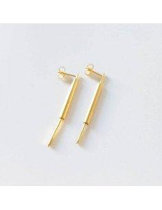 ELOÏSE FIORENTINO bijoux de créateur contemporain baton B.O Chaleur or petit modèle