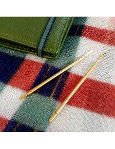 Boucles d'oreilles Eloïse Fiorentino Chateur or grand modèle bijoux de créateur métal