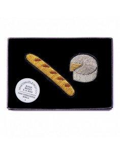 MACON ET LESQUOY Broche Baguette et Camembert