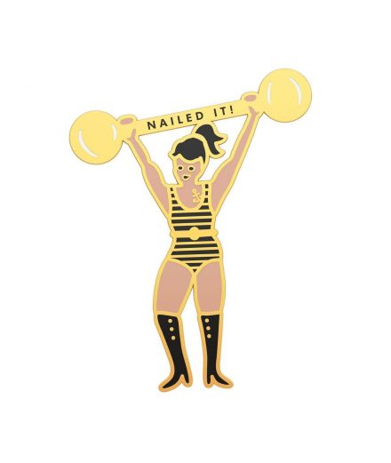 "RIFLE PAPER CO Pin's ""nailed it"""