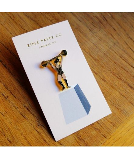 """RIFLE PAPER CO Pin's """"nailed it"""""""