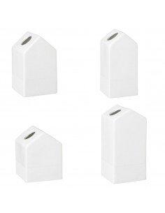 RÄDER DESIGN decoration Set mini vases porcelaine blanche Maison