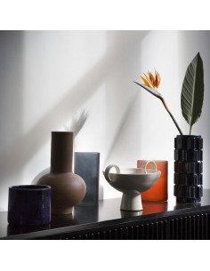 URBAN NATURE CULTURE Grand Vase Céramique Bleu Marine