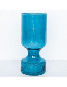 URBAN NATURE CULTURE Grand Vase Verre Bleu Mer du Sud