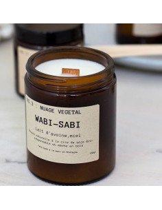 WABI-SABI Bougie Nuage Végétal