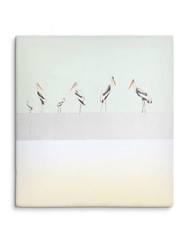 "STORYTILES Carreau de céramique ""Bird Parade"""