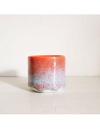 STUDIO ARHOJ sip cup Tasse expresso coloris lave rouge