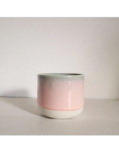 STUDIO ARHOJ sip cup Tasse expresso coloris rose vert pistache