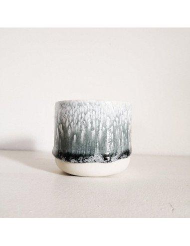 STUDIO ARHOJ sip cupTasse expresso coloris écume gris foncé