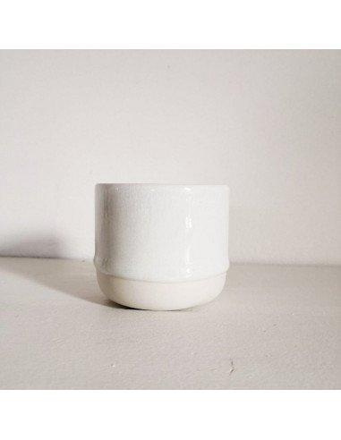 STUDIO ARHOJ sip cup Tasse expresso coloris blanc neige