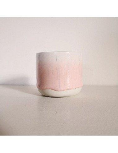STUDIO ARHOJ sip cup Tasse expresso coloris pluie rose pale