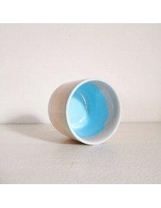 STUDIO ARHOJ sip cup Tasse expresso coloris baby jane rose bleu