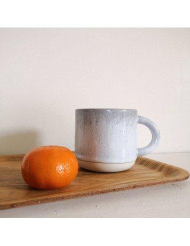 STUDIO ARHOJ chug mug tasse café thé céramique scandinave design danois gris clair