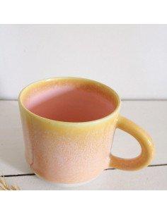 STUDIO ARHOJ chug mug tasse café thé céramique scandinave design danois poudre rose