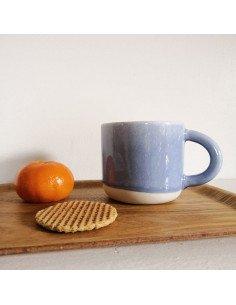 STUDIO ARHOJ chug mug tasse café thé céramique scandinave design danois lac shoji bleu